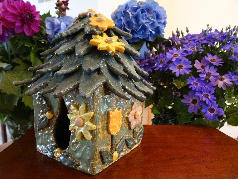 Tulip Fairy House